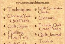 Quilting resouces / by Beverly Miller
