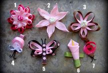 Beautiful Bow & Hair How-To's / by Sarah Dickinson