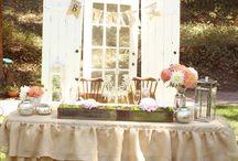 Mer Wedding ideas  / by Mallory Bryson