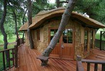 Treehouses / by Nancy Shaffner