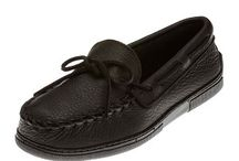 Women's Moosehide Moccasins / Guaranteed low prices for Minnetonka Women's Moosehide Moccasins: Soft, supple, genuine moosehide. Fully padded insole with lightweight flexible rubber sole.  We have many styles of Minnetonka moosehide shoes including fringed kilty, classic and softsole mocs. We guarantee that our prices are the absolute lowest you will find anywhere on the internet. Free shipping with $75 purchase. / by MoccasinsDirect.com