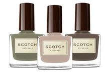 Scotch Naturals / Bellemani carries non toxic and Water based Nail polishes / by Bellemani Salon