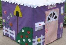 Card Table Playhouse / by Priscilla Hamilton