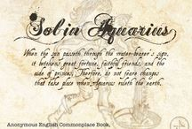 Sol in Aquarius, Pisces, Aries, Taurus - Chap 40 of The Book of Life / This section covers Sol in Aquarius, Pisces, Aries, Taurus - Chapter 40 of The Book of Life by Deborah Harkness. / by Armitage4Clairmont