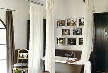 bathtub curtain / by Marcelle Guilbeau