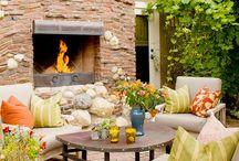 patio ideas / by Cindy Bain