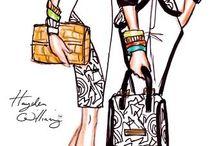 Bocetos de moda / by Jolanta Lasek