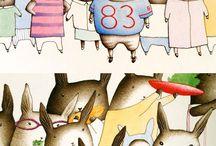 Children's Book Illustrations / by Joy