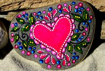 Painted River Rocks / by Laurie Starr
