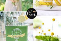 Yellow Green wedding / by Lenka Holubová