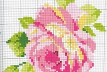 cross stitch roses / by pela fantin