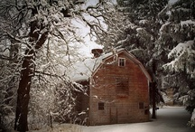 ~ Old Barns ~ / by Claire Miles