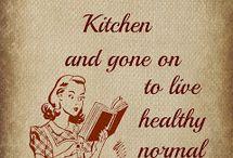 Kitchen / by Abigail Harr