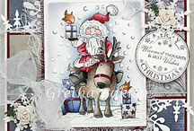 LOTV - Christmas Santa and Snowmen / by Lili of the Valley Ltd