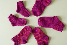 Knitting-baby booties/socks / by Mary Ann Nash