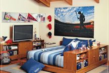 boys bedroom ideas / by Casey Hoefler