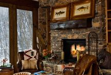 20 Cozy Cabin and Lodge Decorating Ideas / by Dorine Ledgerwood