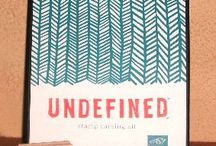 Undefined ~ Hand Carved Stamps / by Stamptastic Designs