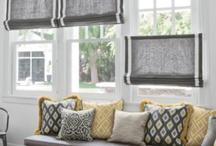 Window treatments / by Keli McCoy Mrotek