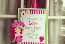 Strawberry Shortcake BD Party / by Tanya Tanya