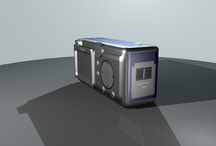 3D Modeling - Canon - Power Shot A460 / This is a small personal project I wanted to share with you all, thank you for your support. More to come :) / by Illustration Scientifique