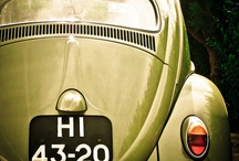 Old Cars / VW vans, VW cars, Fiat 500 we love them all!! / by Liesse .