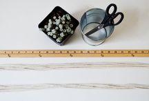 Creative Ballerina / DIY macrame plant hanger  / by Linda Yun