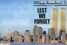 9- 11 / Where were you when 9-11 hit.. I was in a room with my students , many of whom did not know if their parents, relatives and friends were all right or not! We will not forget! / by Ginny Foley