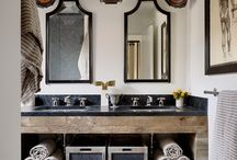 Home... bathroom / by Julie Normand