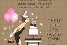 30th Birthday Ideas!!! / by Nicole Mills