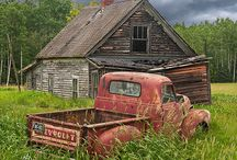 Old Trucks and Antiques Autos / by Gran's Corner