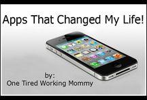 Apps/technology/phone stuff / by Debbie Tom