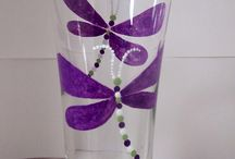 Ideas:  painted glass / by Kathryn Raistrick