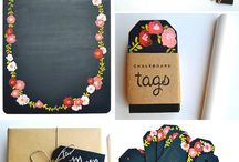 Arts & Crafts : Clipboards, Chalkboards & Command Centers / by Bea Witched