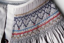 Smocking embroidery / by Mônica Amaral