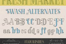 Fonts / by Vanessa Roach