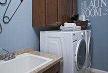 laundry room ideas / by Marcia Tucker