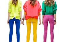 Spring/Summer Fashion Faves / by Roz Pactor