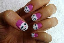 Cat Nail Art / by catsparella