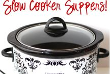 Food: Crock Pot / by Amy Stephens
