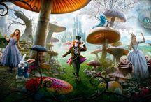 Alice aux pays des merveilles / by Lalo