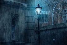 cae fina la lluvia... / by rosa nicolau
