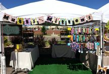 Mutts and Mittens on the Move  / Photos of our various displays and booths!  / by Shannon Reiswig - MuttsandMittens