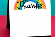 Thank You Cards / Thank you handmade cards / by Jennifer McGuire