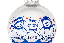 Babies / A baby's birth is certainly a time for joy and remembrance. Bronner's is pleased to present several ornaments that will celebrate your child's birth, first Christmas, and early childhood. These ornaments not only make great gifts but are special keepsakes for generations. / by Bronner's CHRISTmas Wonderland