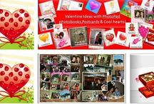 Valentine's Day / PhotoPad gift, Postcard and Photobooks / by PhotoPad For Business