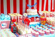Bowdys birthday party ideas  / by Nacoma Gross