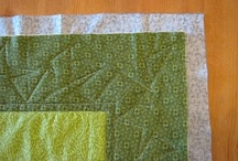 Quilting / by Kari Quillin-Gronoski