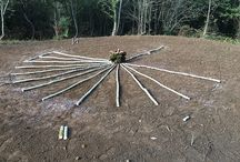 Carbonera / En octubre de 2014 por un encargo de Olentzero, comenzamos a construir una carbonera. Aquí puedes seguir todos los pasos / by Irrisarri Land