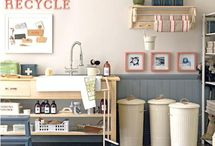 a laundry room. / by Claire Zinnecker